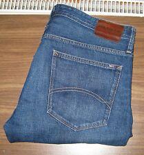 """Tommy Hilfiger Ryan Calce Ajustado Elástico para Hombre Jeans 38"""" Cintura 34"""" Pierna Rrp £ 120"""