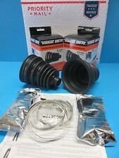 Set 2 Universal Front Outer CV Joint Boot Kits Left & Right 614-001 EXPEDITED