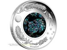 1 $ Dollar Wombat Opal Australien 2012 PP Proof 1 Unze oz Silber silver