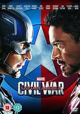 Marvel Captain America  Civil War DVD - Brand New & Sealed Fast P&P - SALE PRICE