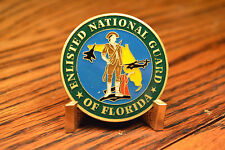 Enlisted National Guard of Florida 2000 Conference Panama City FL Challenge Coin