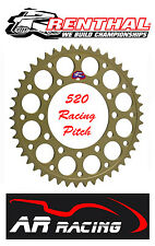 Renthal 47 T Rear Sprocket to fit Galespeed Wheels ( 520 Race Pitch)