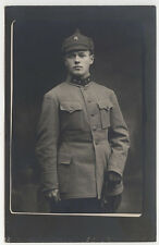 VINTAGE 1920s RUSSIAN  CIVIL WAR USSR RED ARMY OFFICER PHOTO ARTILLERY