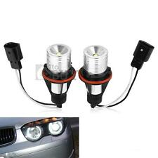 2X PHARE ANGEL EYES LED MARKER BLANC PR ANNEAUX BMW E39