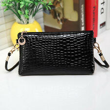 Women Handbag Leather Messenger Crossbody Satchel Shoulder bags Clutch Handbag E