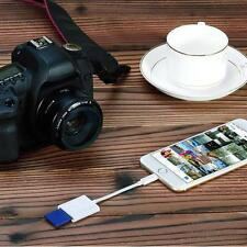 Lightning to SD Card Camera Reader Adapter for iPhone iPad 4 Mini Air