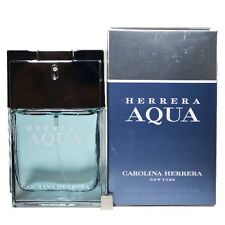 Herrera Aqua by Carolina Herrera for Men Eau de Toilette 1.7 oz 50ml spray