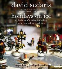 Holidays on Ice by David Sedaris (2008, CD)