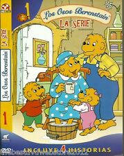 """Los Osos berenstani/The Berenstain Bears-The serie """"1""""  4 historias"""