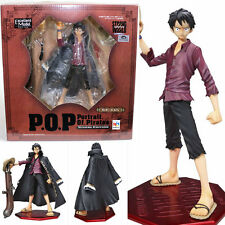 [USED] P.O.P One Piece Monkey D Luffy Strong Edition Figure Japan F/S