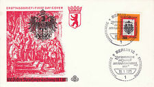GERMANY 18 JANUARY 1971 100th ANNIVERSARY OF THE FOUNDATION FIRST DAY COVER SHS