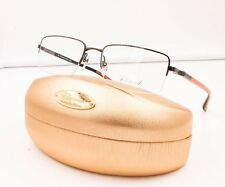 Chopard VCH A07 0509 Titanium Orange Semi Rimless RX Eyeglasses NWC 56MM VCHA07
