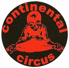 Sticker CONTINENTAL CIRCUS  54mm