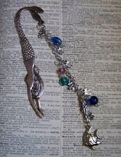 Mermaid Bookmark with Fish Charms and Beads GREAT GIFT!!