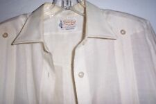 RAMON PUIG LADIES GUAYABERA DRESS MEDIUM SIZE ORIGINAL WORN TWICE OFF WHITE