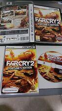 FARCRY 2 FORTUNE´S EDITION JUEGO PC DVD ROM PAL MANUAL CASTELLANO