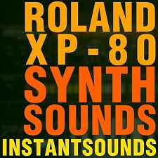 ROLAND XP 80 SYNTH SOUNDS Reason NNXT Akai Akp Refill SOUNDFONTS SAMPLES Wav NOW