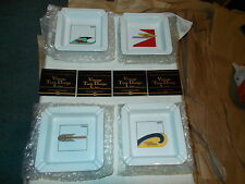 New Old Stock! Vintage Harley Davidson Ashtray Set Mint in 1935 Box With Tag's