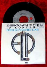 Single Emerson Lake & Palmer: Peter Gunn / Knife Edge