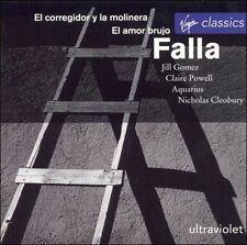 Falla: El corregidor y la molinera; El amor brujo - Jill Gomez (CD 1994, Virgin)