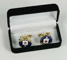 US CENTRAL INTELLIGENCE AGENCY CIA CUFF LINKS BADGE WITH BOX-33058
