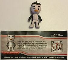 "Tube Heroes The Atlantic Craft Cody Penguin MYSTERY FIGURE Blind Tube 2"" Figure"