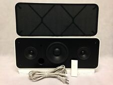 APPLE A1121 HI-FI HOME STEREO IPOD SPEAKER / BOOM BOX DOCK w/ REMOTE