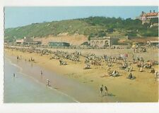 West Beach From Pier Boscombe Old Postcard 272a