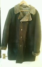 French connection mens real sheepskin winter coat/jacket, size M. Top quality.