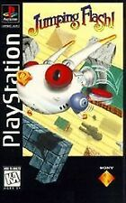 Jumping Flash w/MANUAL GREAT Sony Playstation PS1 LONG BOX