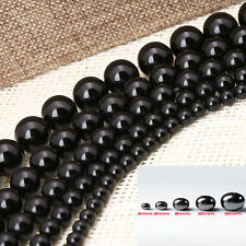 50pcs Black Round Magnetic Hematite Spacer Beads Loose Beads For Craft 8mm