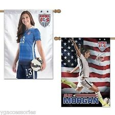 "U.S. Women's Soccer Team Alex Morgan #13 Wincraft 28""x 40"" 2-Side Vertical Flag"