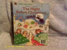 The Night Before Christmas Little Golden Book 1987