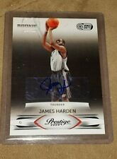 2009-10 PRESTIGE JAMES HARDEN AUTO RC BONUS SHOTS BLACK #10/25 SSP! BGS READY!