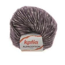 ALPACOTTON KATIA Alpaka + Baumwolle Alpaca Cotton weiche Wolle Flauschgarn F.57