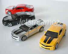 1 X Chevrolet Chevy Camaro Diecast Car model pull back Red Yellow