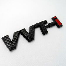 Car VVTI VVT-I Trunk Badge Emblem Sticker Side badge Carbon Fiber