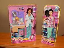 Barbie Doll Lot BRAND NEW Dolls DENTED Box Pediatrician & Nurse YEAR END SALE!