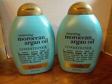 ORGANIX RENEWING MOROCCAN ARGAN OIL CONDITIONER 13 OZ EACH  X2