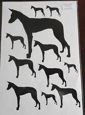 Ibizan hound vinyl stickers/ car decals/ window decals