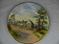 Royal Worcester  Plate Mary Ardens House Hand Painted Signed J. Allen C.