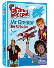 GRANDPA IN MY POCKET MR GREATOR THE CREATOR DVD KIDS TV UNWANTED GIFT PRESENT