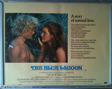 Cinema Poster: BLUE LAGOON, THE 1980 (Quad) Brooke Shields Christopher Atkins