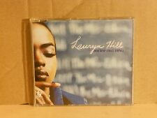 LAURYN HILL - DOO WOP (THAT THING) radio edit 4.00 cds slim case PROMO-DEMOSTRAT