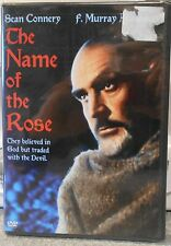 The Name of the Rose (DVD, 2004) RARE SEAN CONNERY 1986 THRILLER BRAND NEW
