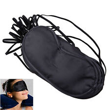 soft comfortable Eye Mask Shade Cover Blindfold Night Sleeping Black