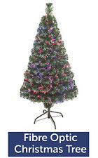 6ft Pre-Lit Artificial Indoor LED Lights Christmas Tree with XL Xmas Stocking