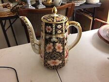 Antique Royal Crown Derby Traditional Imari 2451 Coffee Pot