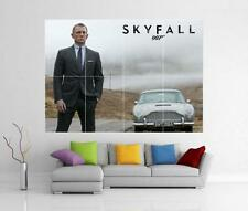 James Bond 007 Skyfall Daniel Craig Gigante De Pared Art Print Cartel H78