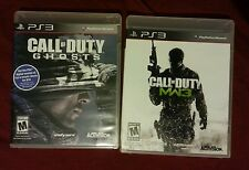 COD bundle PS3 used